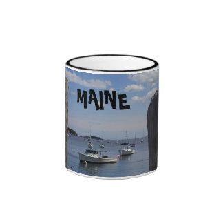 Taza del barco de Maine