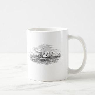 Taza del barco de vapor de Mississippi