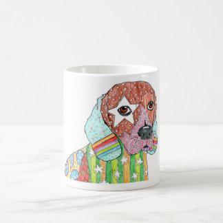 Taza del beagle del Brite de la estrella de Marley