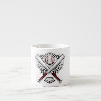 taza del béisbol taza espresso