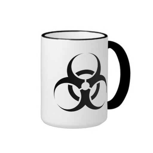 taza del Bio-peligro