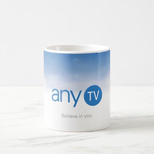 taza del blanco de any.TV