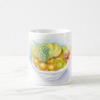 Taza del blanco de Fruitbowl