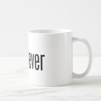 taza del blanco del guatever