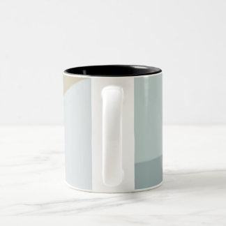 taza del bloque del color