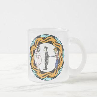 Taza del boda de la familia