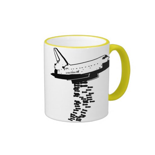 Taza del bombardero del transbordador espacial