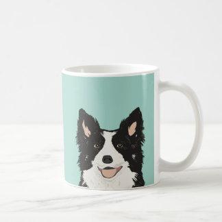 Taza del border collie - regalo lindo del perro