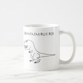 Taza del bosquejo de Grumpasaurus Rex