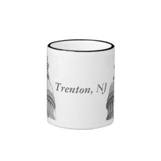 Taza del bosquejo de la bóveda de Trenton