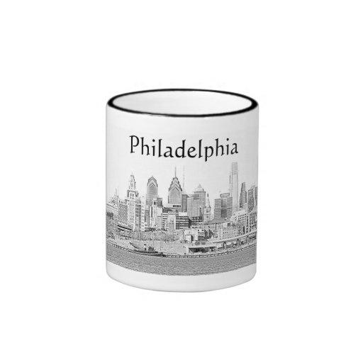 Taza del bosquejo de Philadelphia