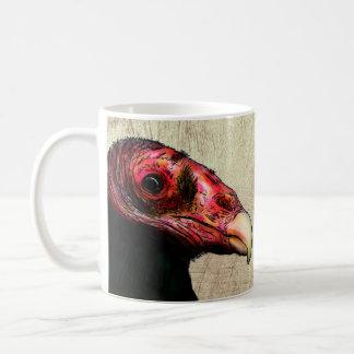 Taza del buitre de Turquía (halcón a alguno)