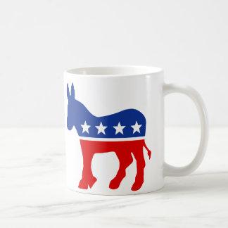 Taza del burro de Demócrata
