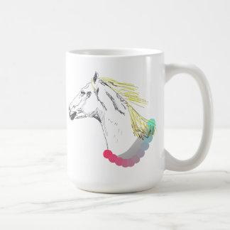 Taza del caballo blanco