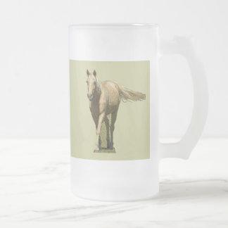 Taza del caballo del Palomino