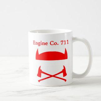 Taza del café adaptable del bombero