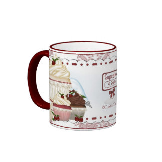 Taza del café de CuddleCreek® ClassyCupcakes