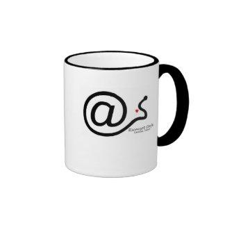 Taza del café de Escargot