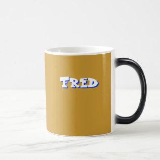 Taza del café de Fred