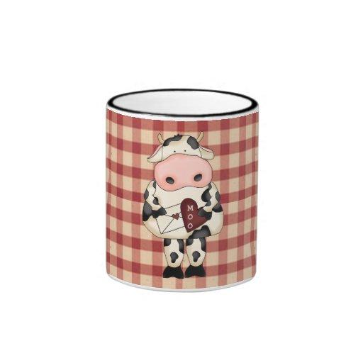 Taza del café de la tarjeta del día de San Valentí