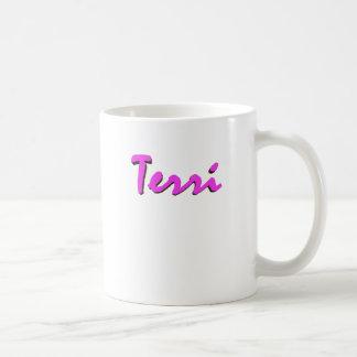 Taza del café de Terri