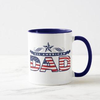 Taza del café de todos los del papá americano
