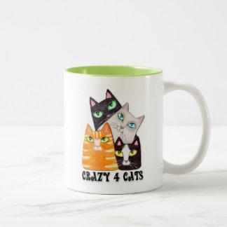 Taza del café del amante del gato