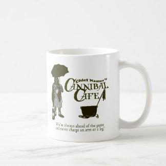 Taza del café del caníbal