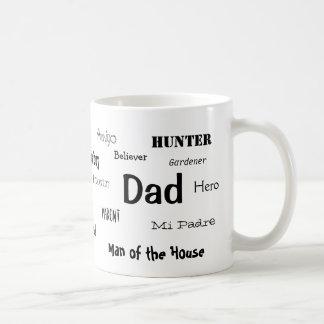 Taza del café del papá