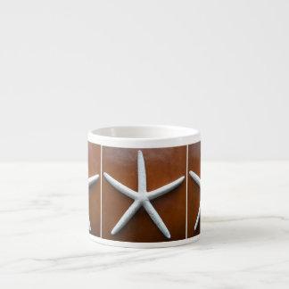 Taza del café express de la estrella de mar tazas espresso