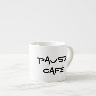 Taza del café express de la Pausa-Café Taza Espresso