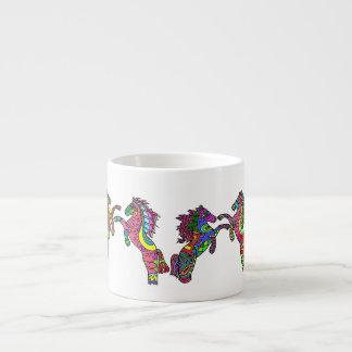 Taza del café express de los potros       6 del ca taza espresso