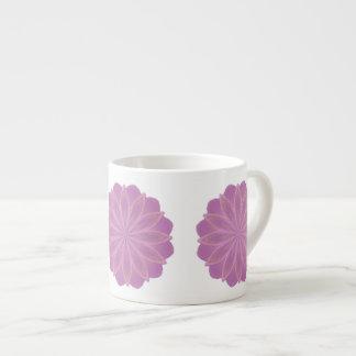 Taza del café express del arte de la mandala de lo taza espresso