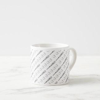 Taza del café express del bateador taza espresso