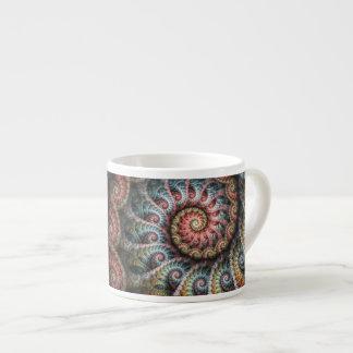Taza del café express del fractal 04 taza espresso