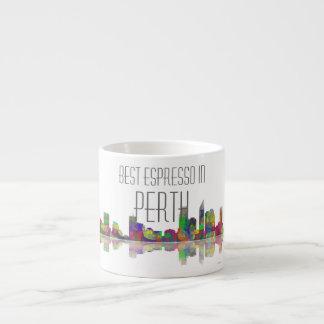 Taza del café express del horizonte de Perth Taza Espresso