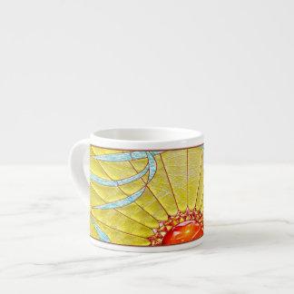 Taza del café express del reino de Sun Taza Espresso