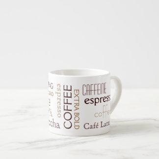 Taza del café express tazitas espresso