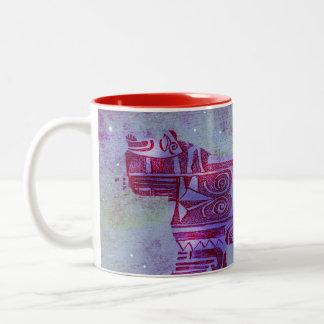 taza del café ideal de la pantera