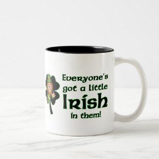 Taza del café irlandés