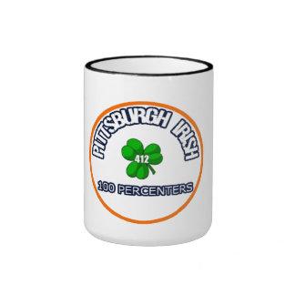Taza del café irlandés de Pittsburgh