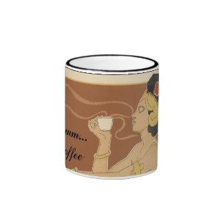 … taza del café mmm