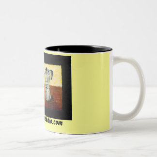 Taza del café o de Latte del café express