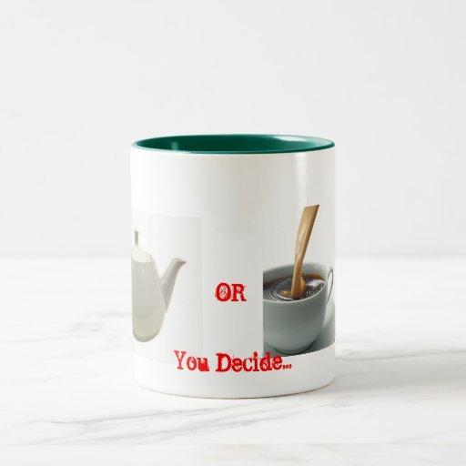 Taza del café o del té