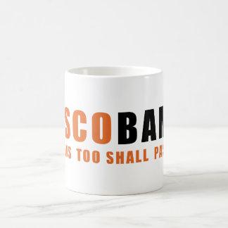 Taza del café sólo anaranjado y