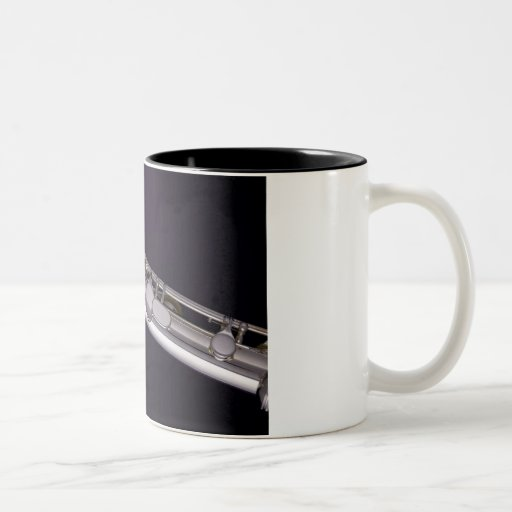Taza del café sólo de la flauta
