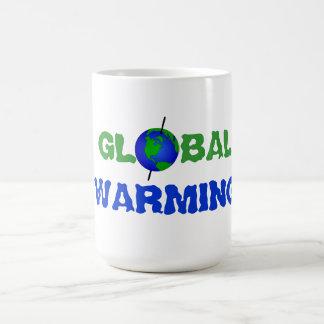 Taza del calentamiento del planeta