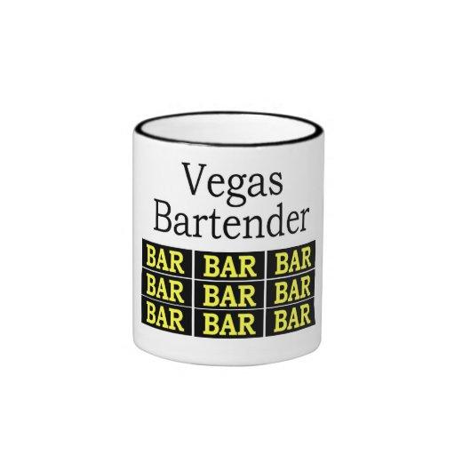Taza del camarero de Vegas
