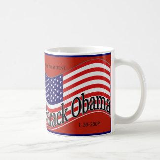 """Taza del """"cambio"""" de la inauguración de Barack"""