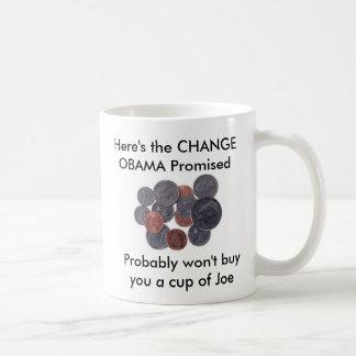 Taza del cambio de Obama